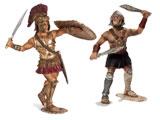 Schleich Neue Helden, Gladiatoren, Kämpfer