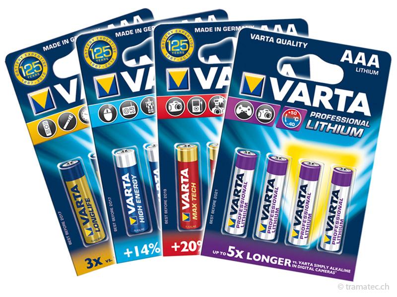 Batterien, Akkus, Wiederaufladbare Batterien, Ladegeräte, Taschenlampen