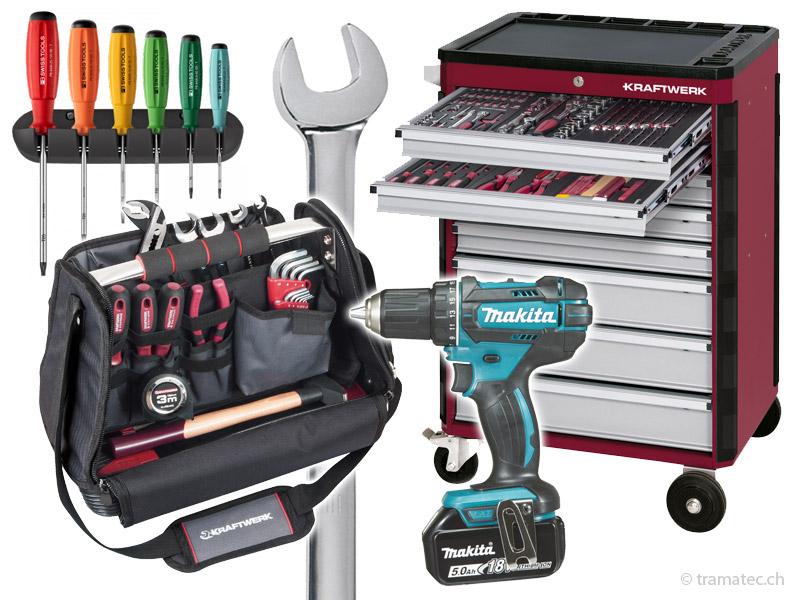 Handwerkzeug, Maschinen, Kraftwerk, PB-Tools, Knippex...