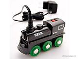 BRIO - elektrische Lokomotiven mit Batterie oder Akku
