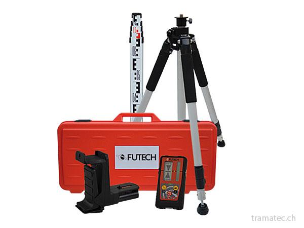 Futech Zubehör für Laser und Messgeräte, Stative, Koffer, Empfänger, Akkus, Ladegeräte