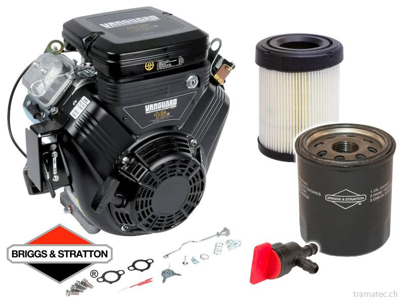 Briggs & Stratton Benzin Motoren, Ersatzteile, Fuftfilter, Ölfilter, Zündung, Vergaser, Starter