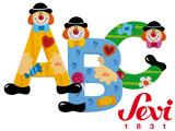 Holzbuchstaben für Kinderzimmertüren und anderes