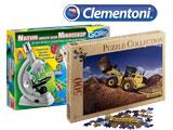 Clementoni Puzzle, Experimentierkästen und Wissenschaftsspilezeug