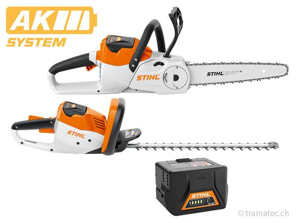 Stihl AK-System, die Akku-Geräte für ambitionierte Projekte und Arbeiten im Hobby- und Semiprofessionellen Bereich