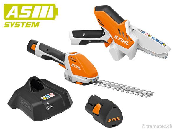 Stihl AS-System Die kompakten kleinen Akku-Geräte