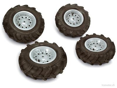 Rolly Toys Luftbereifung 2x 325x110 / 2x 310x95 - 40 924 2