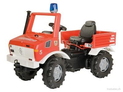 Rolly Toys Farmtrac  Feuerwehr Unimog  - 03 663 9