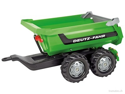Rolly Toys HALFPIPE-trailer Deutz-Fahr - 12 224 0