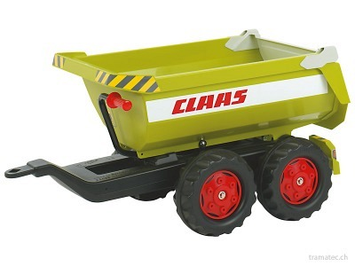 Rolly Toys HALFPIPE-trailer CLAAS - 12 221 9