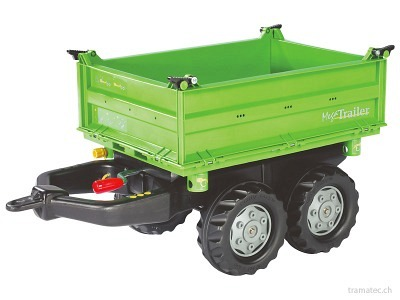 Rolly Toys Mega Trailer Deutz Dreiseitenkipper - 12 150 2