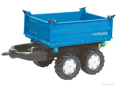 Rolly Toys Mega Trailer Dreiseitenkipper - 12 110 6