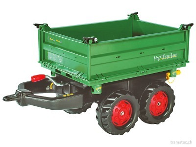 Rolly Toys Mega Trailer Dreiseitenkipper - 12 220 2