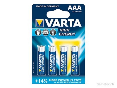 Batterie Varta High Energy AAA