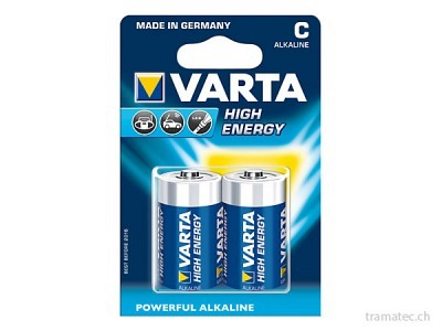 Batterie Varta High Energy C