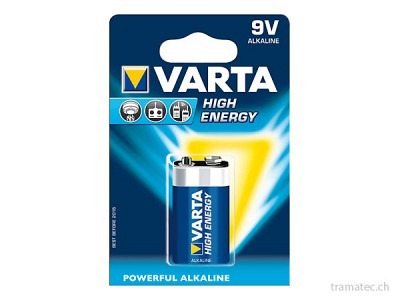 Batterie VARTA High Energy 9V E-Block