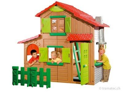 Smoby Kinderspielhaus Duplex Berchet