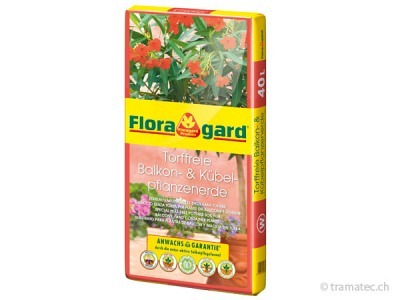 Floragard Torffreie Balkon- und Kübelpflanzenerde