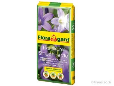 Floragard Florahum Staudenerde