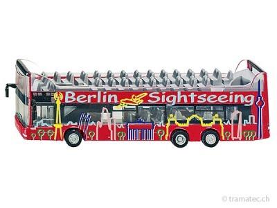 SIKU 1885 MAN Doppelstock-Sightseeing-Bus