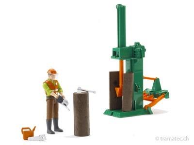 Bruder Forstwirtschaftsset - 62650