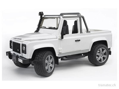 Bruder Land Rover Defender Pick Up - 02591