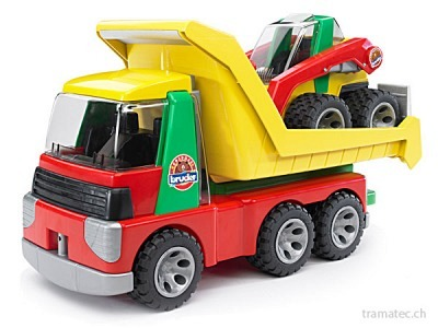 Bruder Transporter mit Kompaktlader ROADMAX - 20070