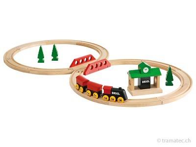BRIO Klassisches Bahn Acht Set