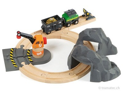 BRIO Goldminen Set