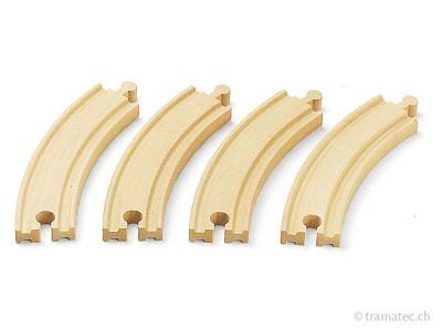 BRIO Lange gebogene Gleise