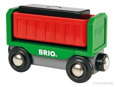 BRIO Kipplore mit Ladung