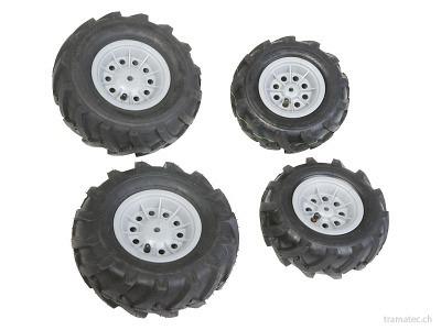 Rolly Toys Luftbereifung 2x 260x95 / 2x 325x110 - 40 984 6