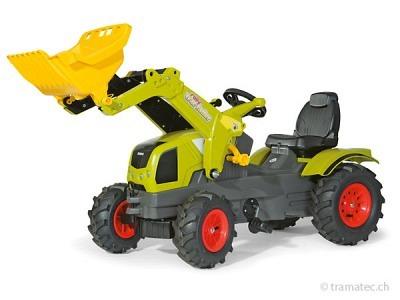 Rolly Toys Farmtrac Claas Axos 340 mit Trac Lader und Luftbereifung - 61 107 2