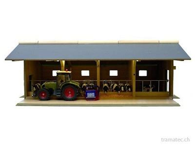 Kids Globe Farming Offener Stall 1:32