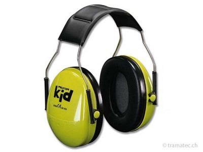 Peltor-Kid Gehörschutz speziell für Kinder neongrün