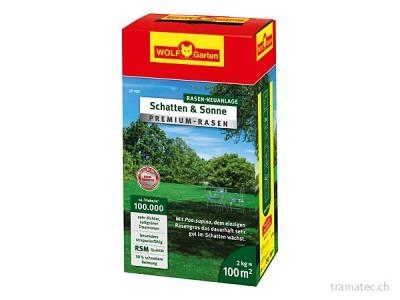 WOLF Premium-Rasen Schatten & Sonne