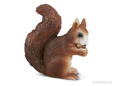 Schleich Eichhörnchen fressend