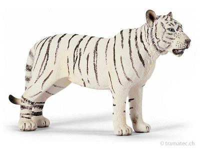 Schleich Tigerin, weiß