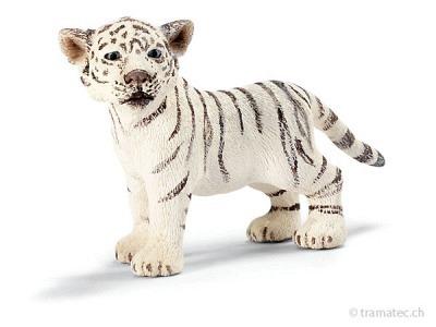 Schleich Tigerjunges weiß, stehend