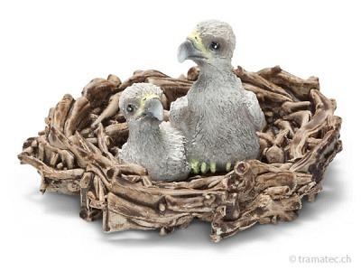 Schleich Adlerjungen im Nest