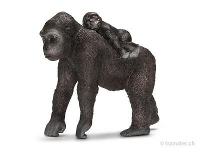 Schleich Gorilla Weibchen mit Baby