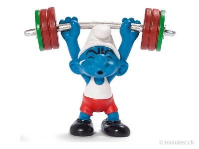 Schleich Gewichtheber