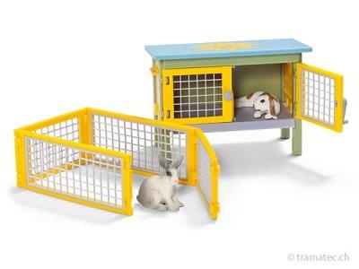 Schleich Scenery Pack Kaninchen