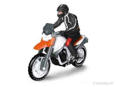 Schleich Motorrad mit Fahrer