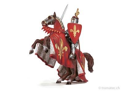 Schleich Fürst auf steigendem Pferd