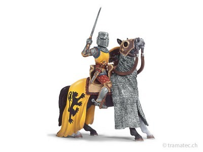 Schleich Ritter mit Schwert auf Pferd