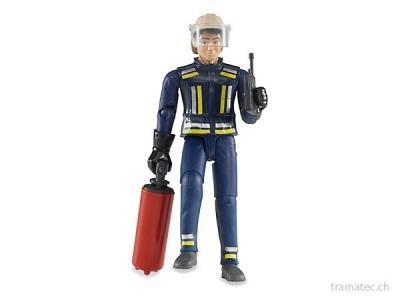 Bruder Feuerwehrmann mit Zubehör - 60100