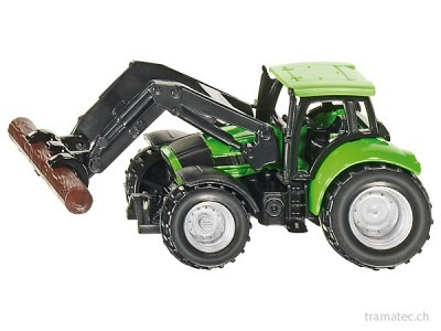 SIKU 1380 Traktor mit Baumstammgreifer