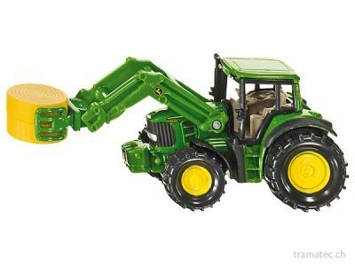 SIKU 1379 Traktor mit Ballenzange