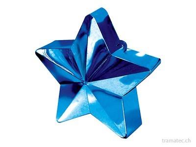 Amscan/Riethmüller Ballongewicht Stern blau